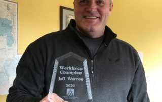 JeffWarren1 320x202 Jeff Warren Recognized as Workforce Champion